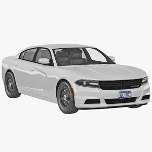 3d dodge charger 2015 simple