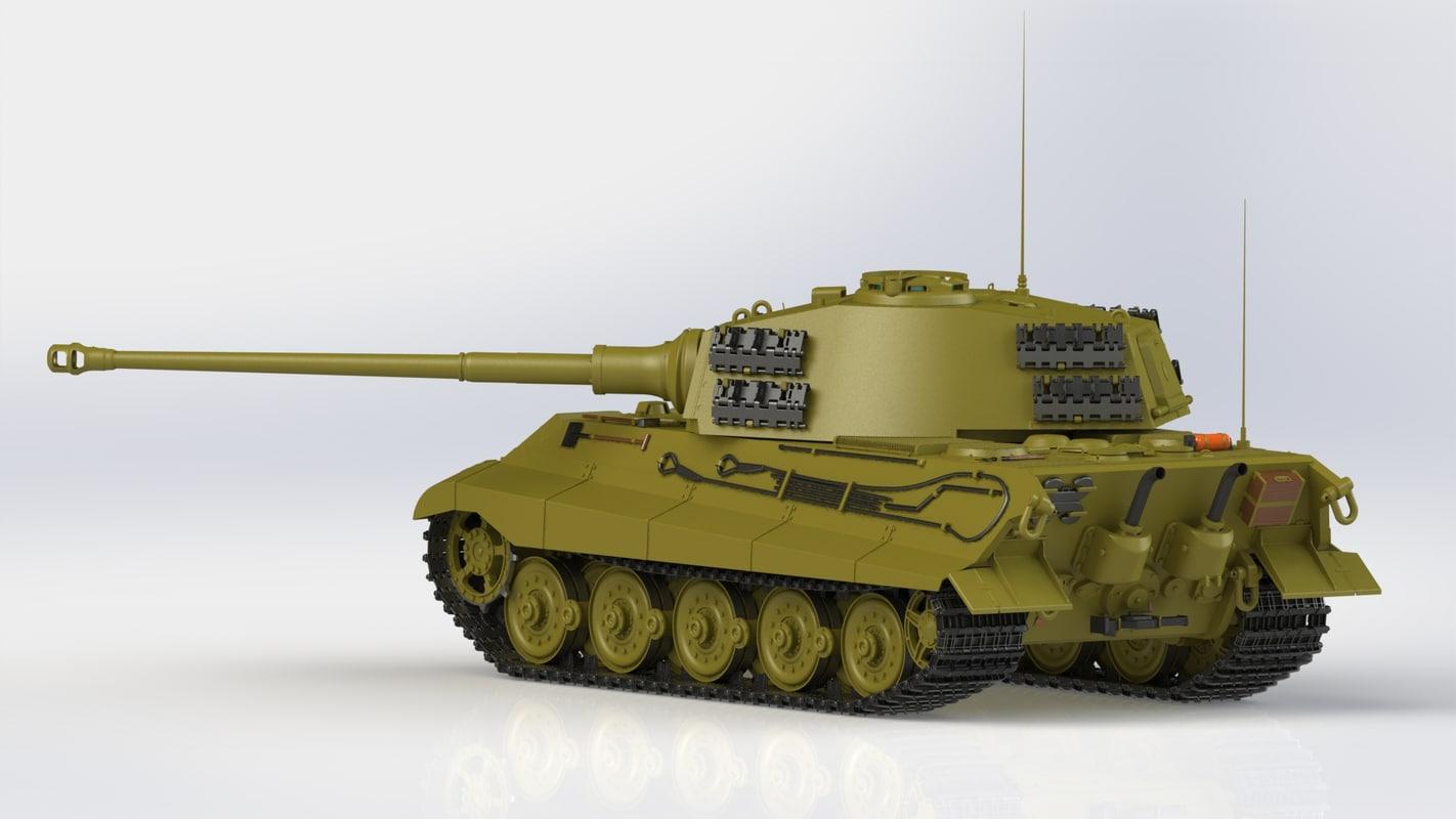 3d model panzerkampfwagen ausf b sd