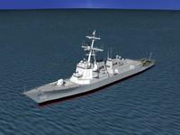 dwg ship arleigh burke class