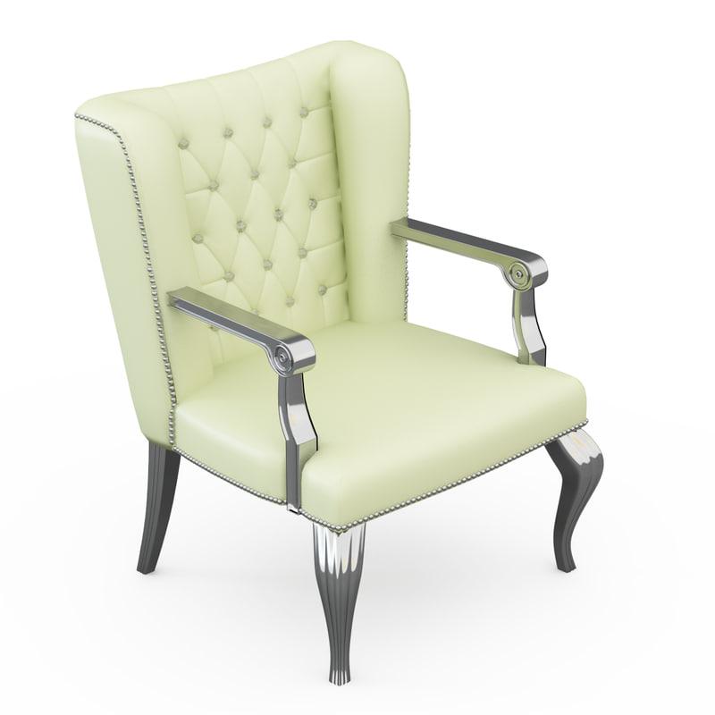 3d desk chair