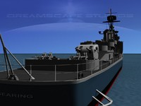 anti-aircraft gearing class destroyers 3d 3ds