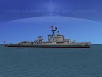 anti-aircraft gearing class destroyers 3d 3ds