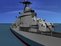 max anti-aircraft gearing class destroyers