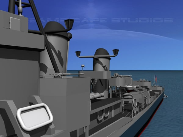 dwg anti-aircraft gearing class destroyers