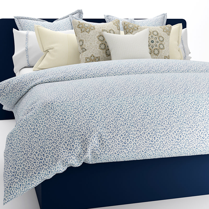 bedding pillows sheet obj