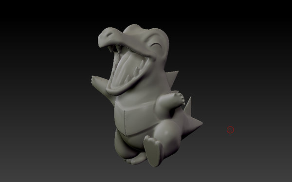 3ds max totodile ready printing
