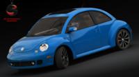 3ds max volkswagen beetle 2004