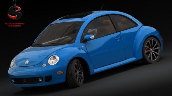 3d volkswagen beetle 2004 model