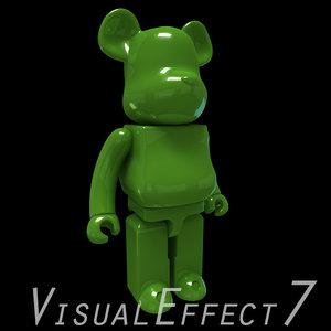 3d model cartoon light