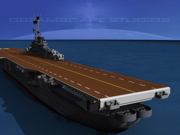 class carriers essex uss dwg