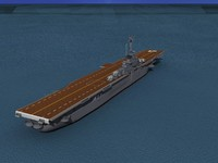 class carriers essex uss bunker 3d 3ds