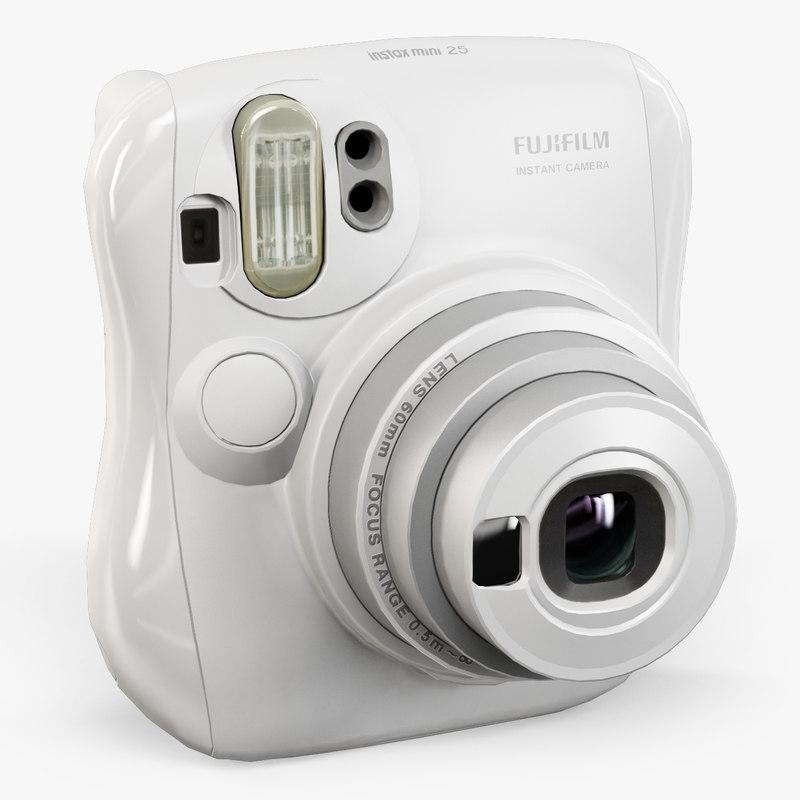 3d model fujifilm instax mini 25