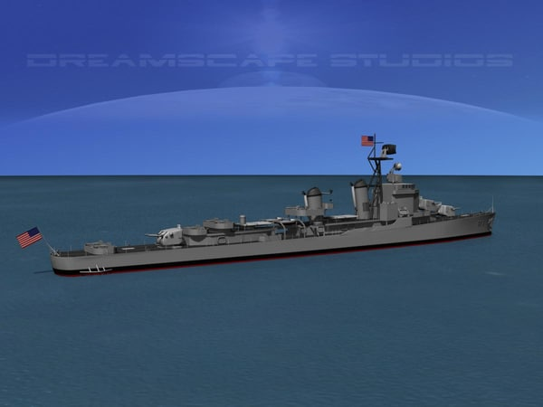3d gearing class destroyers model