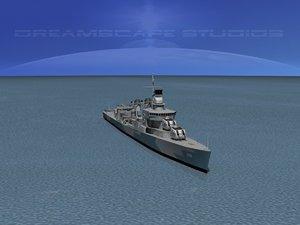 3d sumner class destroyers