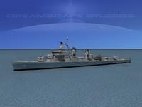 dxf sumner class destroyers