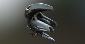 spaceship 3d x
