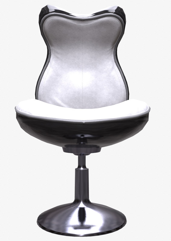 3d ready sci-fi chair model
