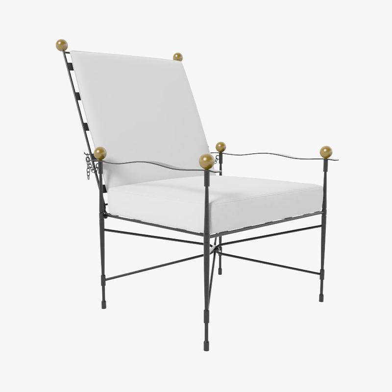 3d amalfi adjustable chair lounge