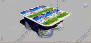 yogurt 3d max