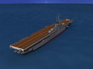 3d anti-aircraft class carriers ticonderoga model