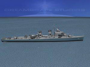 3d sumner class destroyers model