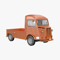 citroen hy pickup 3d model