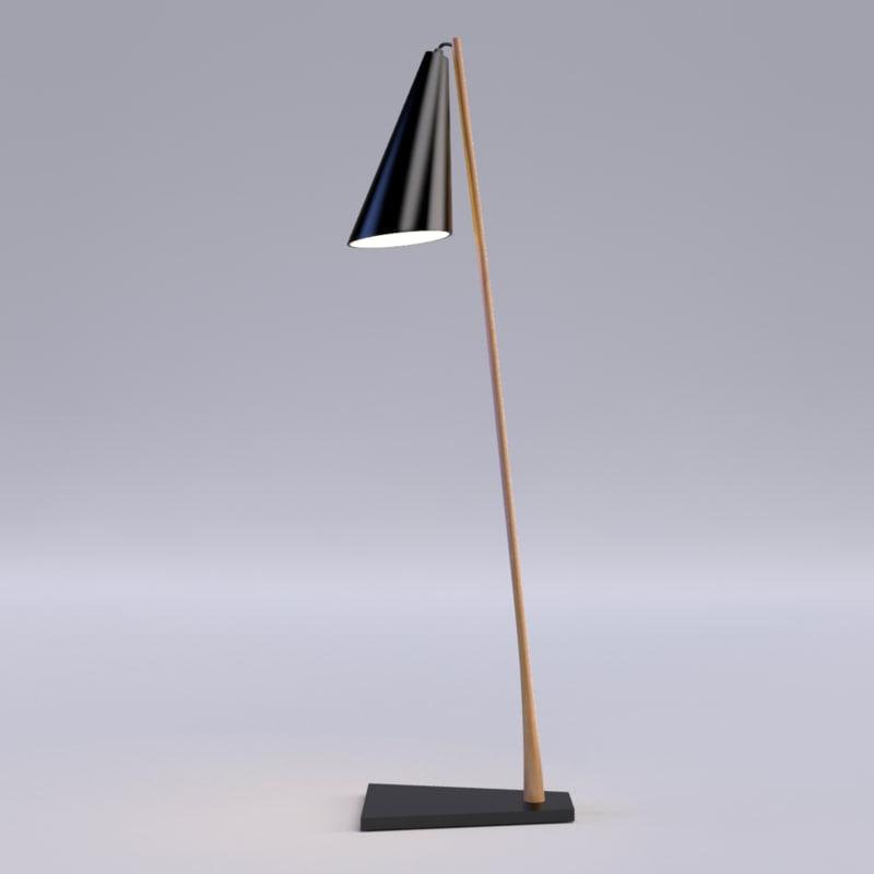 max modern floor lamp