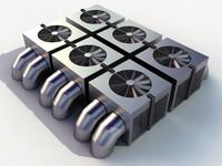 HVAC cooler