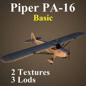 3d piper basic model
