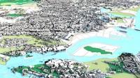 3d singapore cities model