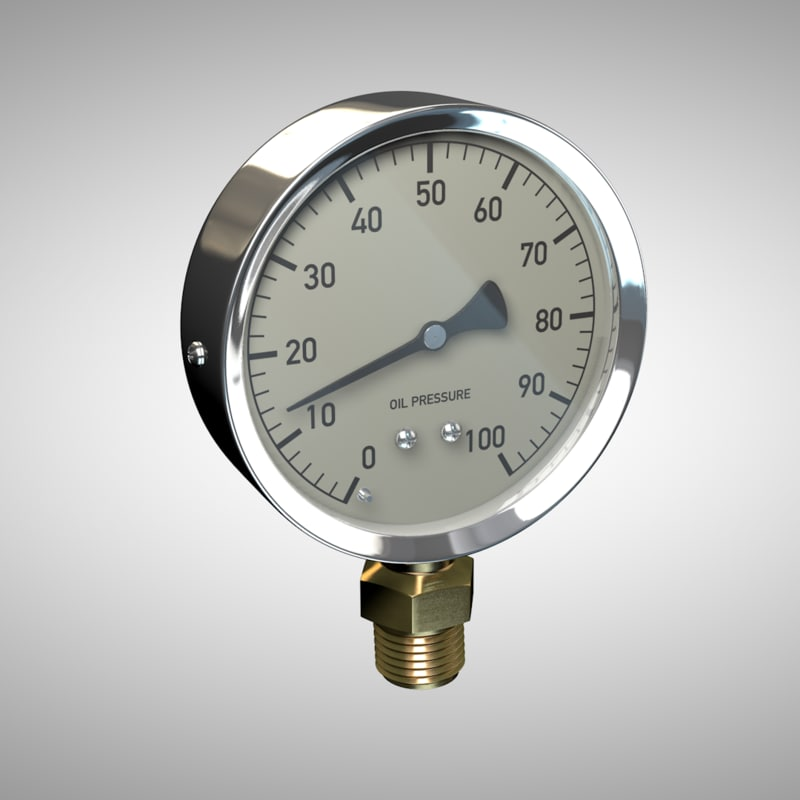 pressure gauge c4d