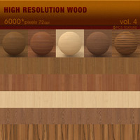 High Resolution Wood Textures Vol. 4 ( 5 PCS )
