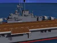 Ticonderoga Class Carrier CV-38 USS Shangri-La