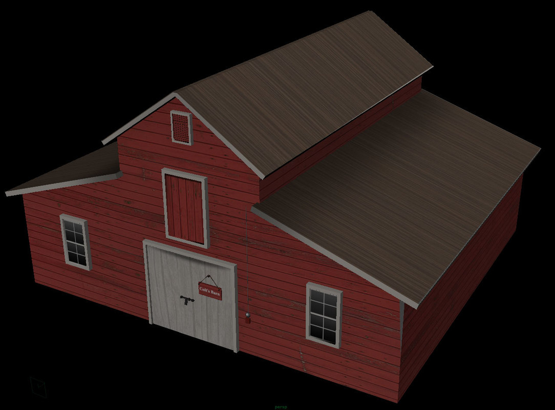 ware house 3d model