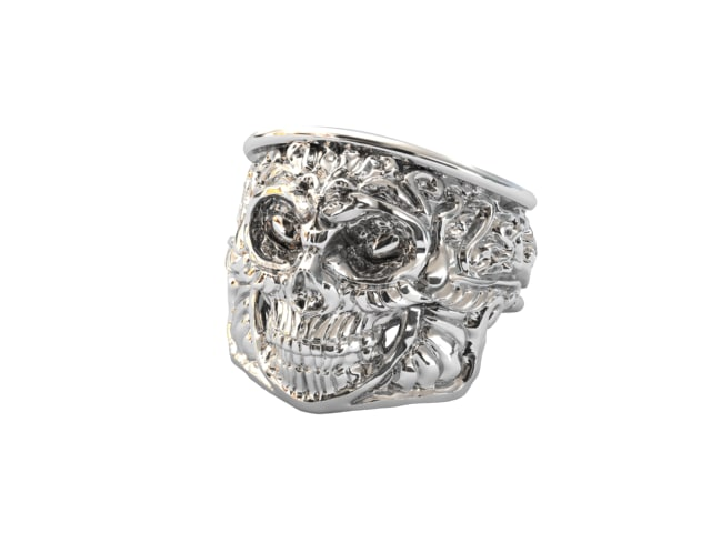 max skull ring