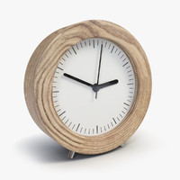 clock hours elements 3d model
