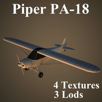 3d piper super cub