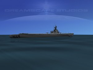 3d model of subs balao class submarines