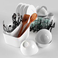 3d kitchen set