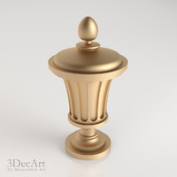 decorative finial knob max