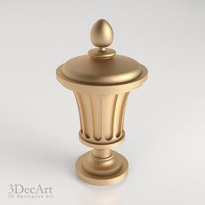 decorative finial knob max