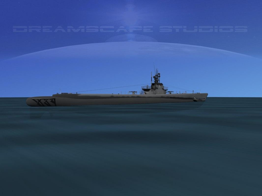 subs balao class submarines max