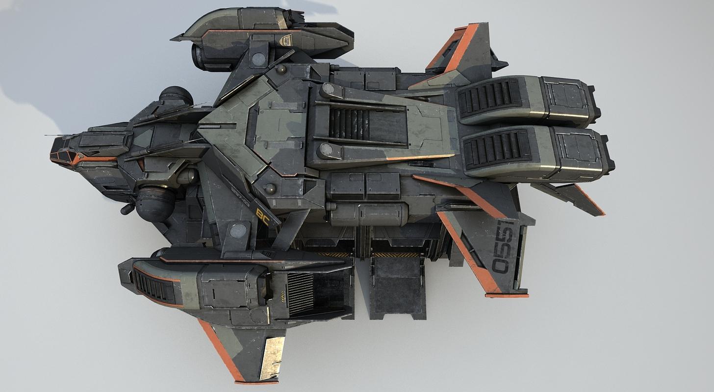 cargo spacecraft max
