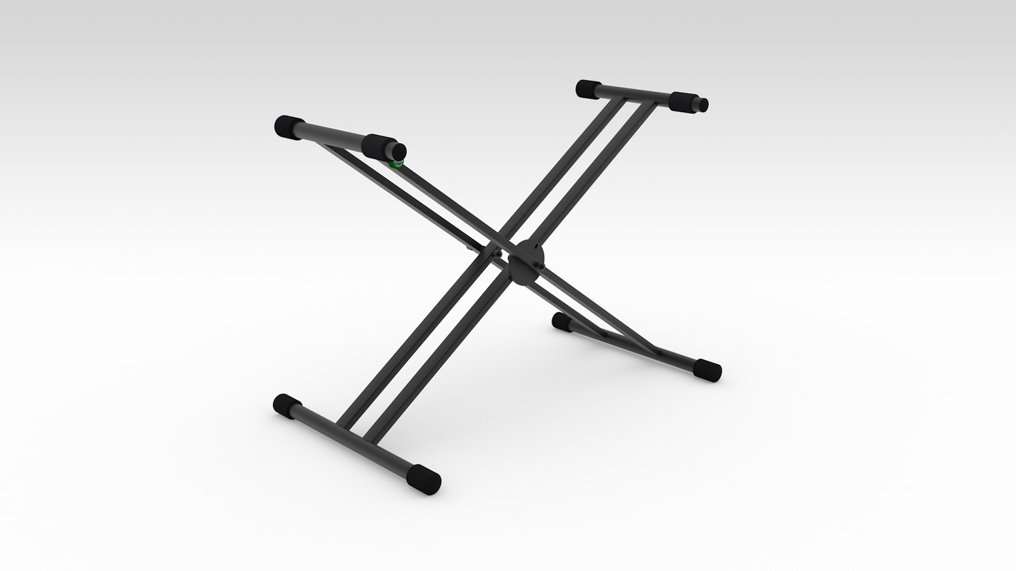 3d model keyboard stand