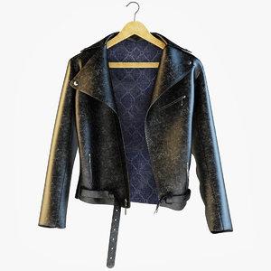3dsmax leather jacket
