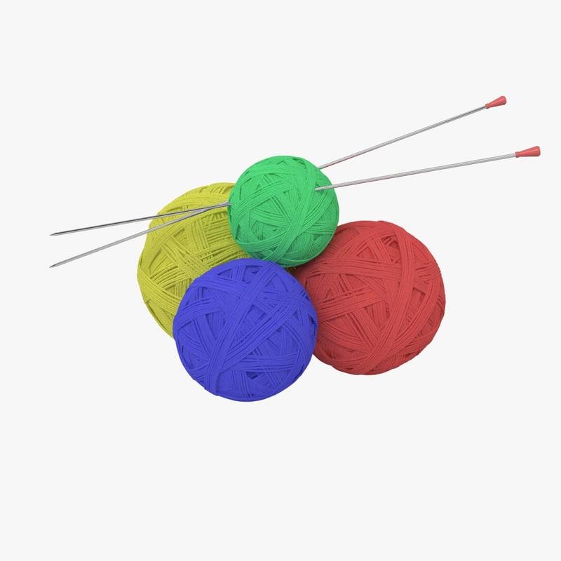 3d wool ball