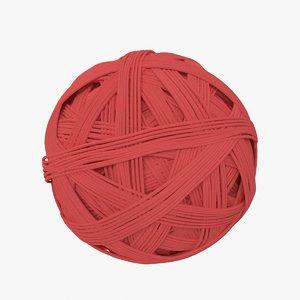 wool ball 3d model