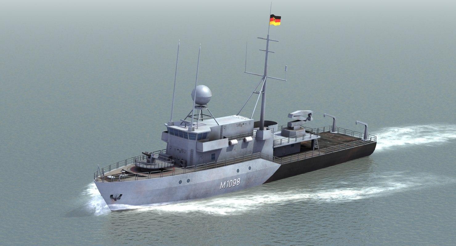german navy minesweeper 3ds