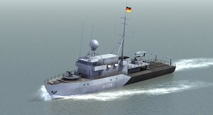 german navy minesweeper 3ds