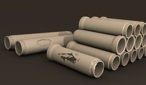 pipe concrete 3D